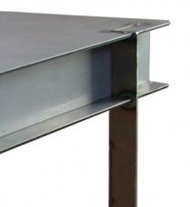 12 ga Table corner detail